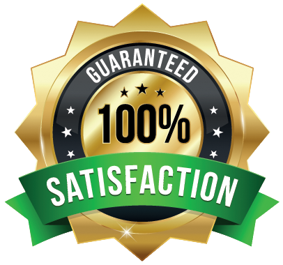 100% Guaranteed Satisfication